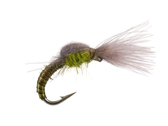 Olive Tuft Emerger - Medium Olive