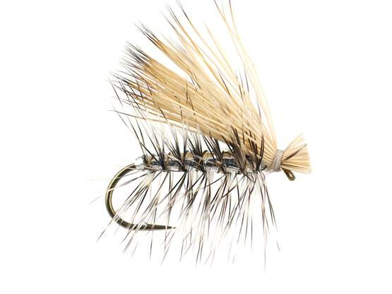 Silver Superb Elk Hair Caddis