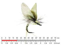 Mayfly Emerger E2 Light Olive 20mm