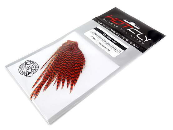 GRIZZLY GENETIC HACKLES MINIPATCH hotfly