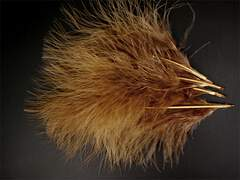 MARABOU hotfly - 10 pz. - ca. 15 cm - light brown