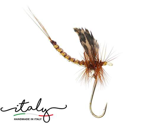 Winged Brown Mayfly - 15mm