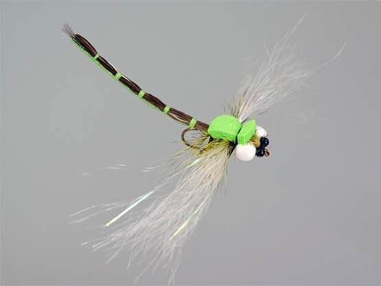 Superb Large Dragonfly Green 8