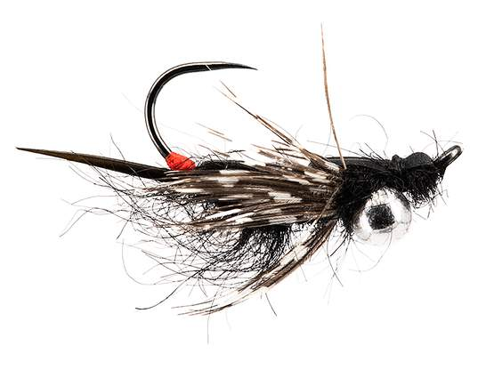 Ivans Jig Off Stonefly Nymph TG BL Black