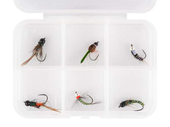 Selezione mosche hotfly BRASS BEAD NYMPHS ESSENTIAL LTD -...