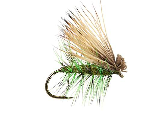Green Superb Elk Hair Caddis