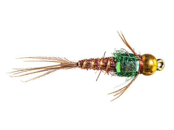 Kyles BH Angel Hair Pheasant Tail Flash 12