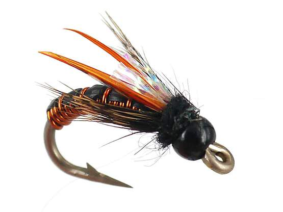 Wired Caddis - Amber 12