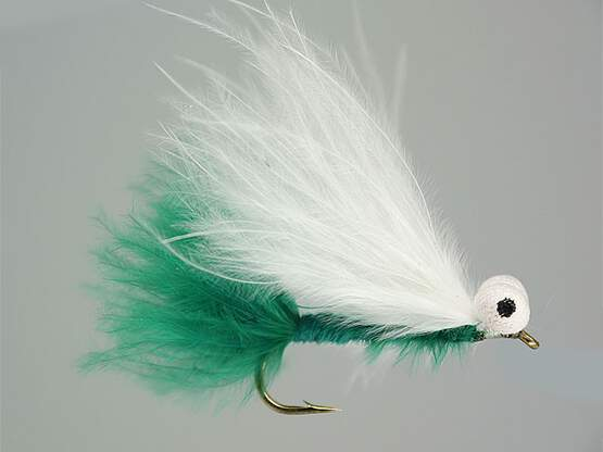 Deep Green Marabou Stimulator