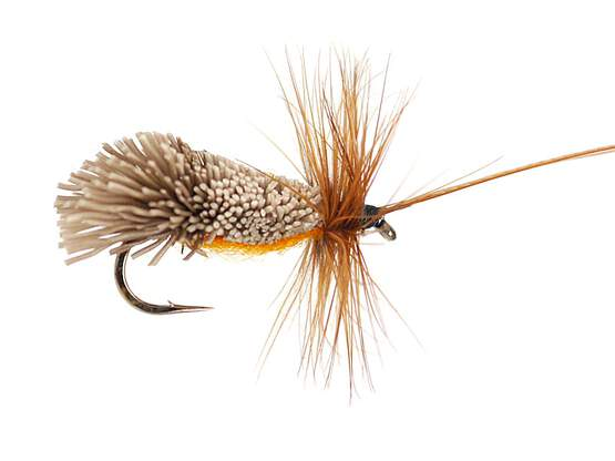 Goddards Caddis Orange